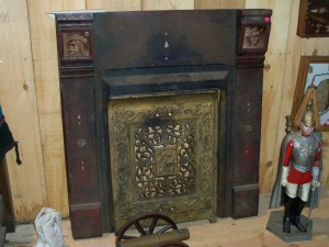 BUFFALO BILL FIREPLACE
