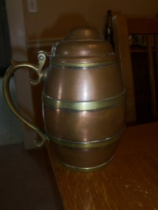 F.C.DECKEBACH COPPER BRASS PITCHER