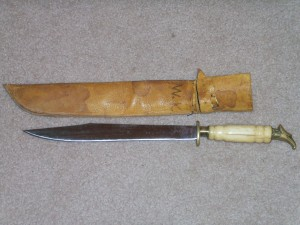 EAGEL HEAD BOWIE KNIFE