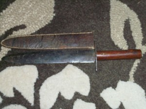 CIVIL WAR BOWIE KNIFE.