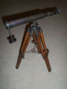 CIVIL WAR TELESCOPE.